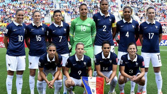 Canada 2015 - L'Equipe de France Féminine en quart de finale, un choc entre Parisiennes