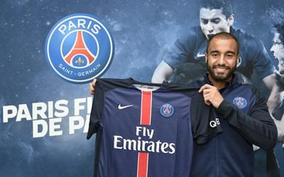 """Ligue 1 - Lucas """"Paris est trop fort oui"""", la concurrence avec Di Maria est bonne pour le PSG et lui"""