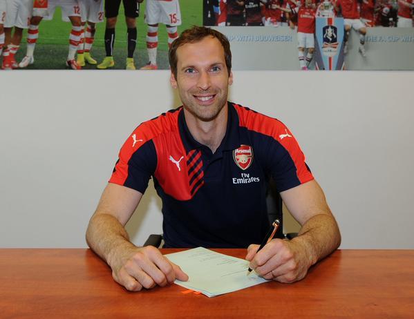 Mercato - Petr Cech a signé à Arsenal, c'est officiel