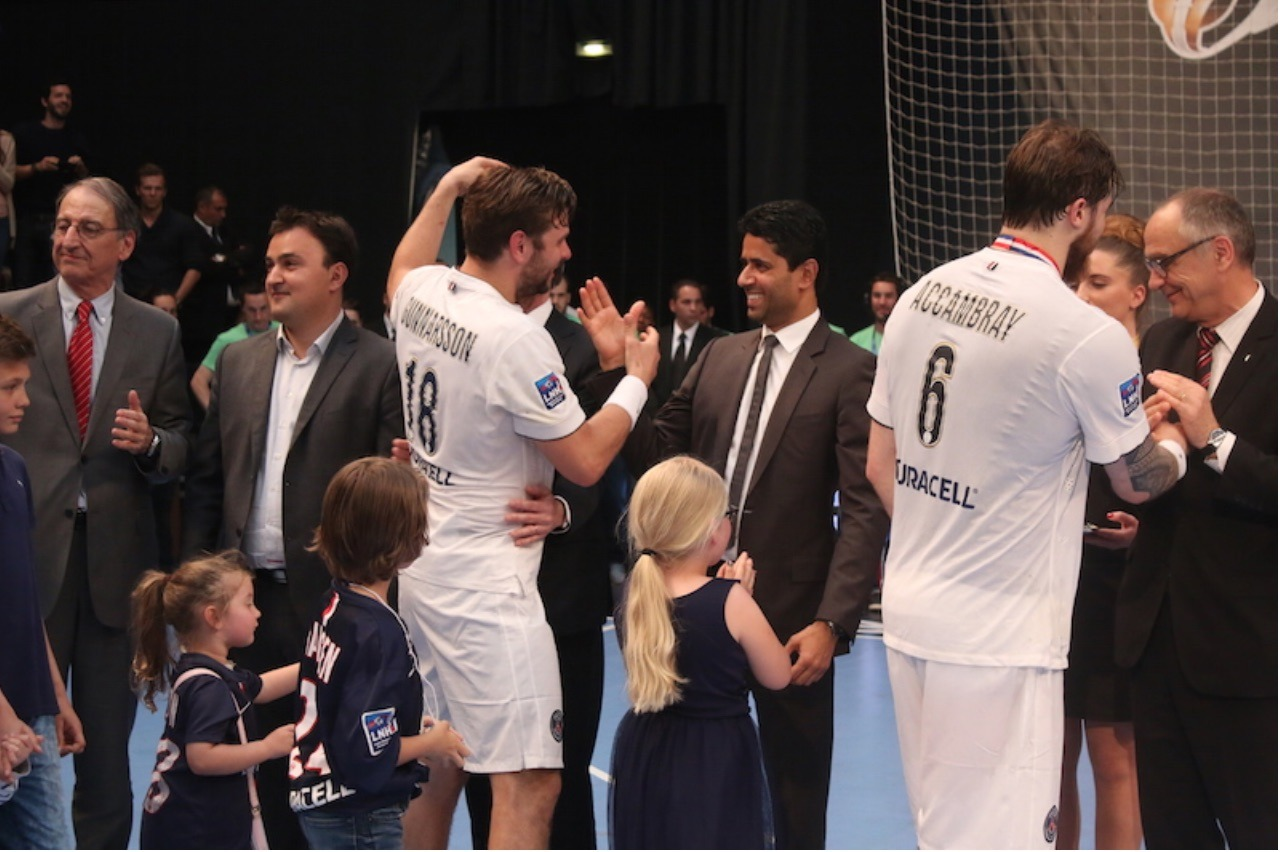 """PSG - Nasser Al-Khelaïfi """"fier"""" des handballeurs"""