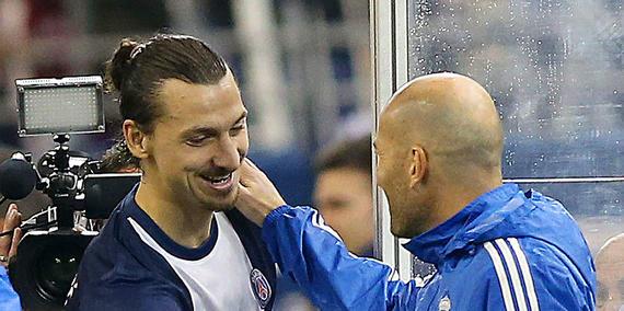 PSG - Zidane l'affirme Ibrahimovic, il faut des joueurs comme lui