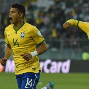 Thiago Silva buteur Bresil Venezuela Copa America