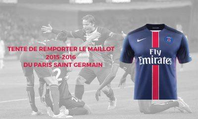 Tentez de remporter le nouveau maillot du Paris Saint Germain!