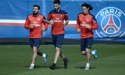 PSG- Lavezzi, Pastore et Cavani de retour en forme