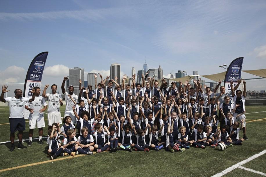 L'Angleterre sera le 13e pays à recevoir la Paris Saint-Germain Academy