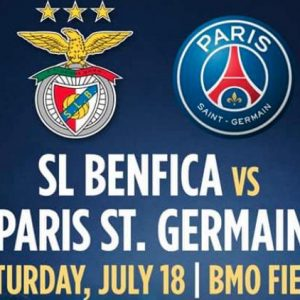 PSG Benfica 2015