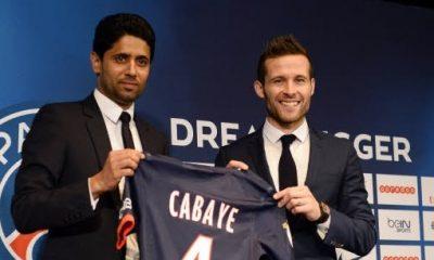 """PSG - Cabaye est """"sans rancune ni colère"""" et complimente Al-Khelaïfi """"un grand monsieur"""""""