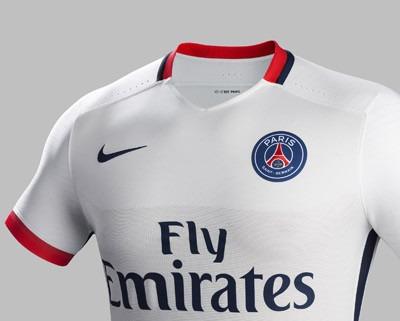 PSG - Le maillot extérieur présenté par le club et disponible pour l'achat