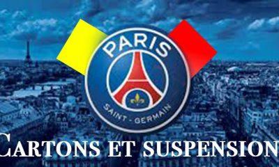 Cartons et Suspensions avant PSG-Bordeaux, Aurier, Luiz et Motta en danger