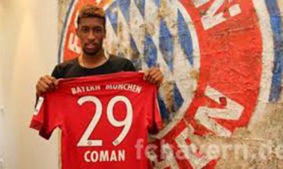 Anciens- Coman officiellement prêté au Bayern Munich