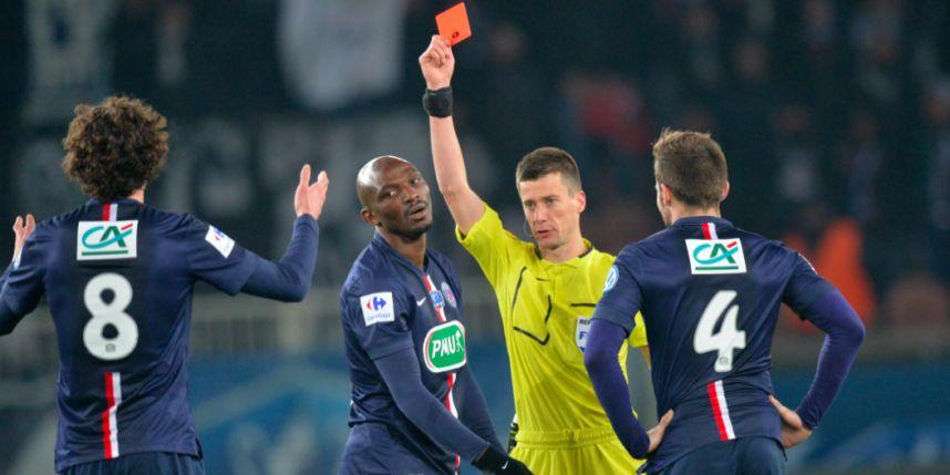 La LFP a décidé, 1 match ferme pour Adrien Rabiot