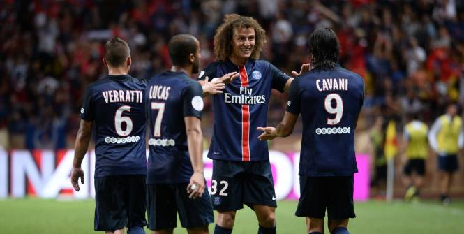 David Luiz AS Monaco/PSG Ligue1