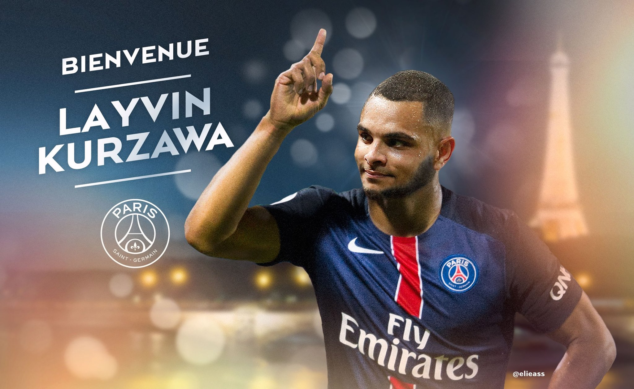 Layvin Kurzawa rejoint officiellement le Paris Saint-Germain!