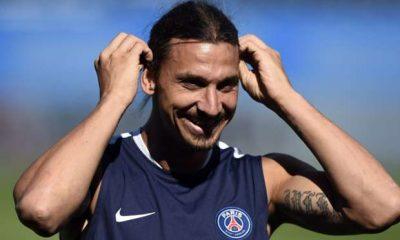 "Ligue 1 - ASM - PSG, Ibrahimovic et Di Maria ""très en jambes"", Kurzawa et Pastore seuls forfaits normalement"