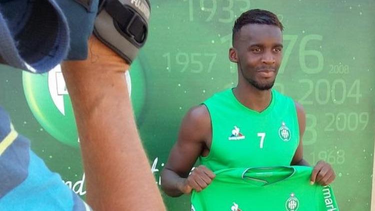 Bahebeck explique son choix d'avoir rejoint Saint-Etienne pour son prêt
