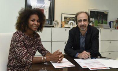 PSG - Laura Georges prolonge jusqu'en 2016 !