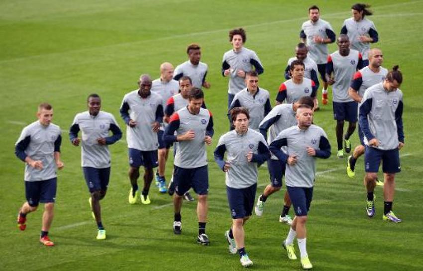 Un entraînement au complet pour le PSG