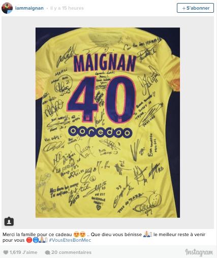 PSG- Le cadeau des Parisiens à Mike Maignan