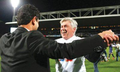 Carlo Ancelotti ne ferme pas la porte à un retour au PSG