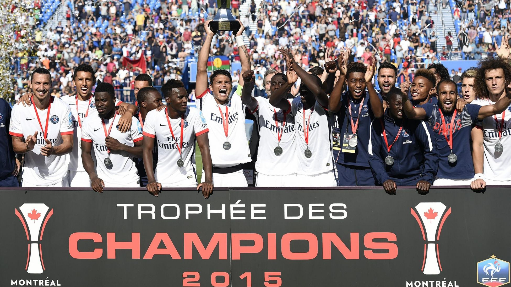 Le Trophée des Champions, entre le PSG et l'OL, fixé au 6 août