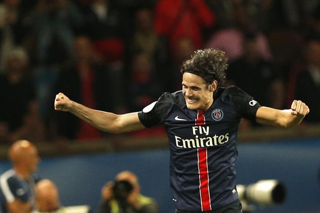 Cavani est actuellement le meilleur buteur de Ligue 1, de la saison et de l'année 2015