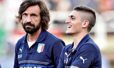 Conte doit trancher une bonne fois pour toutes entre Pirlo et Verratti