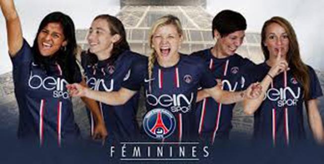 équipe féminine psg