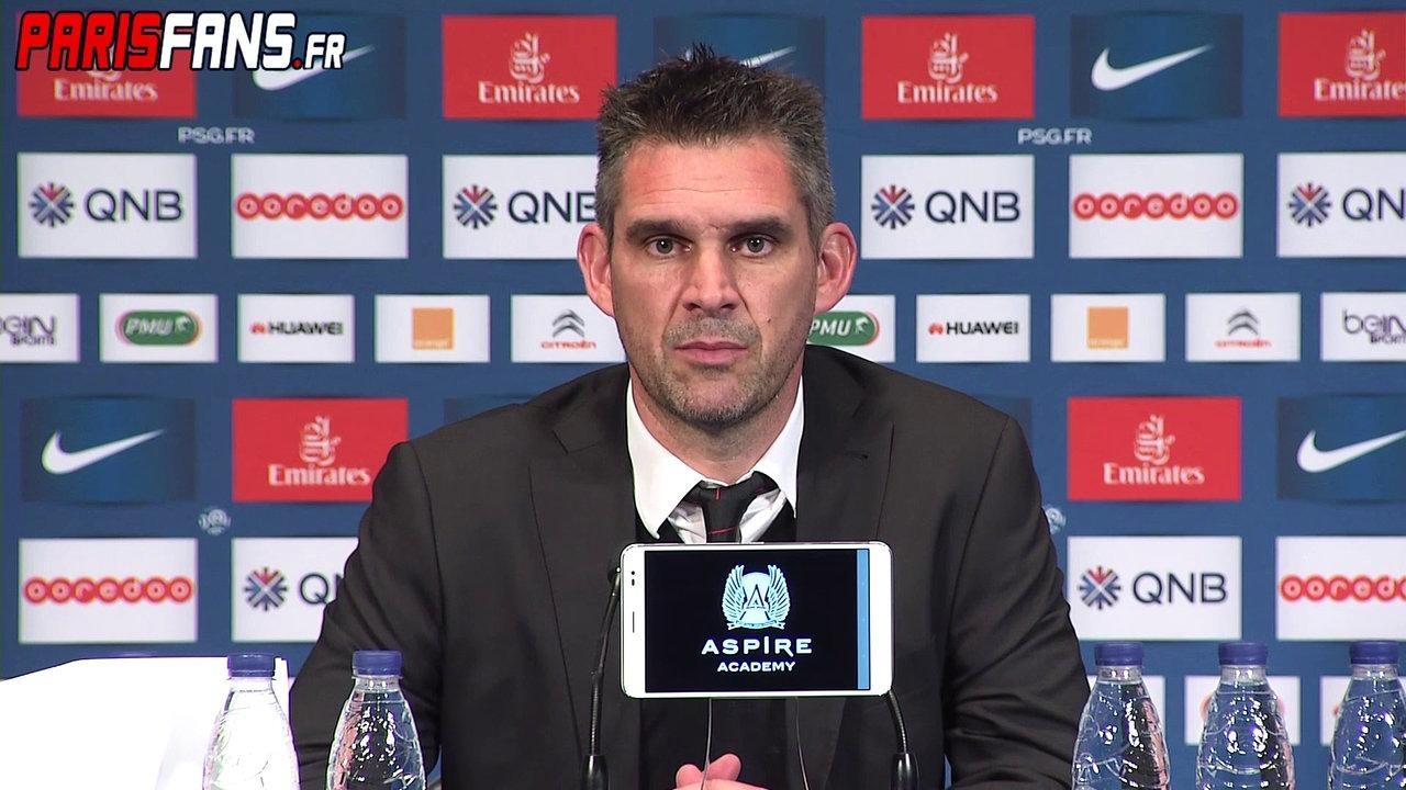 """Bordeaux/PSG - Gourvennec """"Il ne faut pas faire d'erreur, c'est rare que Paris ne les sanctionne pas"""""""