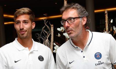 """Laurent Blanc à Trapp """"c'est bien mon petit"""", """"mieux que cela arrive sur un match plutôt que la carrière"""""""