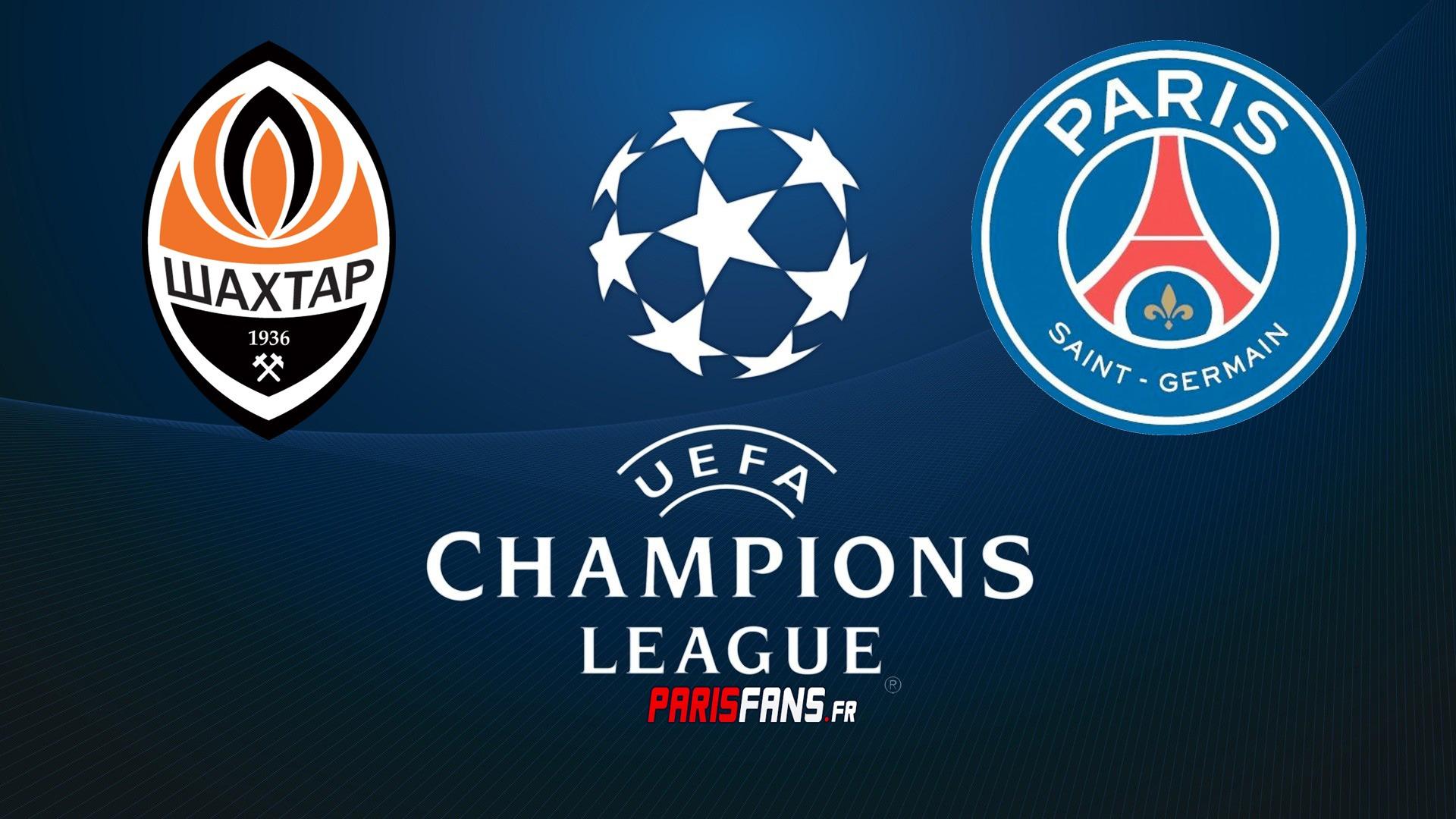 LDC - Shakhtar Donetsk - PSG (0-3) en Live texte