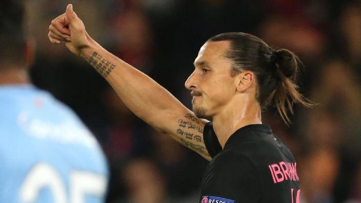 Zlatan Ibrahimovic On va joueur mieux et dominer plus le jeu