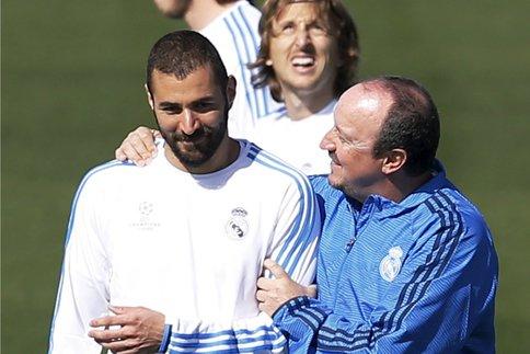 """LDC - Benitez annonce Rodriduez et Benzema """"proches d'un retour"""", aucune précision pour Bale"""