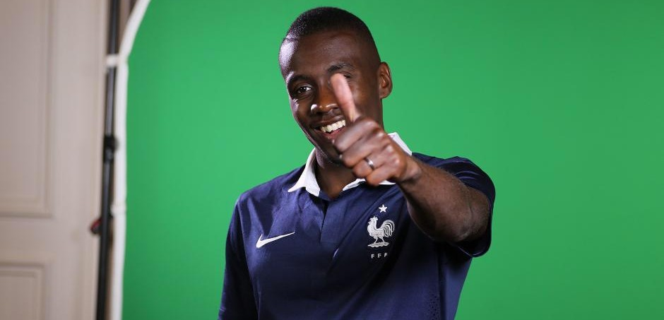 Blaise Matuidi s'est rendu à la Danone Nations Cup France