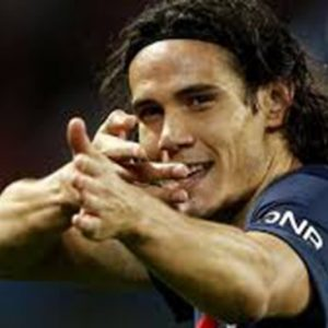 "Cavani "" direction Las V...."""
