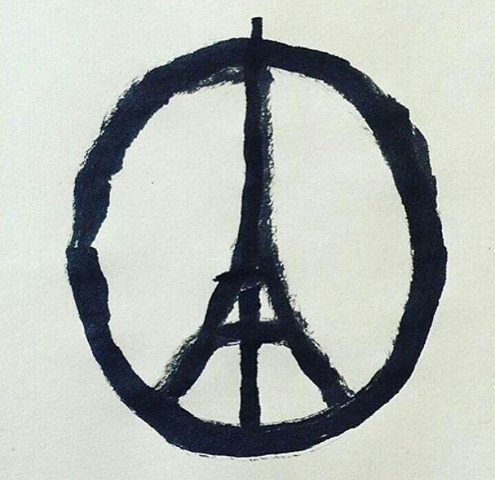 """L'OM """"Nous sommes Paris"""", la belle banderole des Ultras à Marseille"""