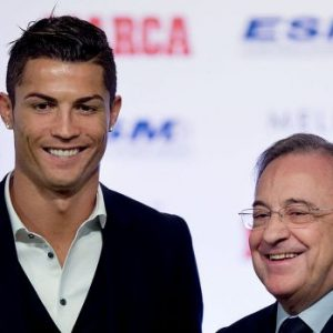 "Florentino Pérez ""je souhaite que Cristiano reste ici toute sa vie"""