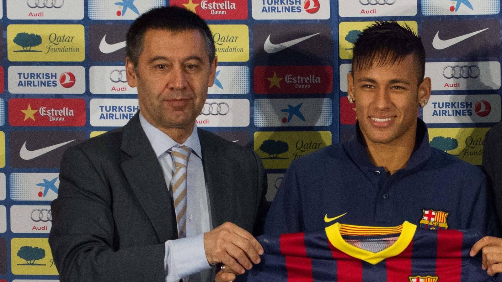 Le président de Barcelone fixe l'avenir de Neymar