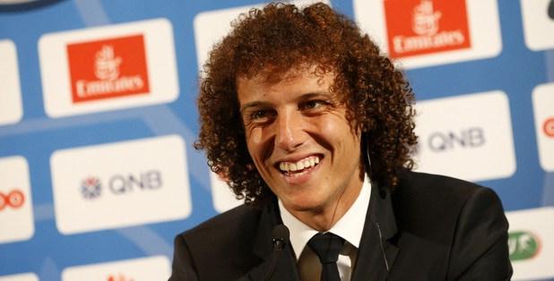 David Luiz montre ses buts du jour sur Instagram
