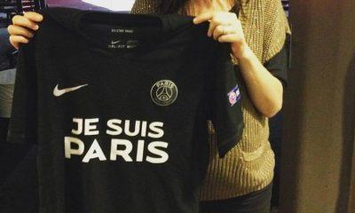 Des maillots « Je suis Paris » font leur apparition en ligne, aucun n'est officiel
