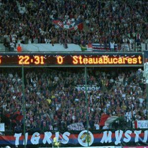 L. Fournier revient sur la qualification face au Steaua du PSG, le Parc avait aidé
