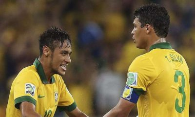 """Neymar a """"toujours admiré"""" Thiago Silva, """"un excellent capitaine"""""""