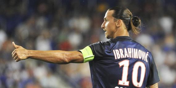 Le maillot d'Ibrahimovic est dans le top 15 des ventes en Amérique