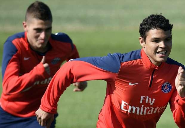 Marco Verratti fait l'éloge de Thiago Silva et Marquinhos