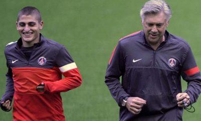 Verratti déclare (encore) sa flamme à Ancelotti, qu'il veut retrouver en sélection