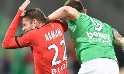 Armand s'emporte envers l'arbitre à la suite de Saint-Etienne - Rennes
