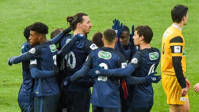 CDF - Les joueurs de Wasquehal ont apprécié l'attitude du PSG ils sont restés humbles