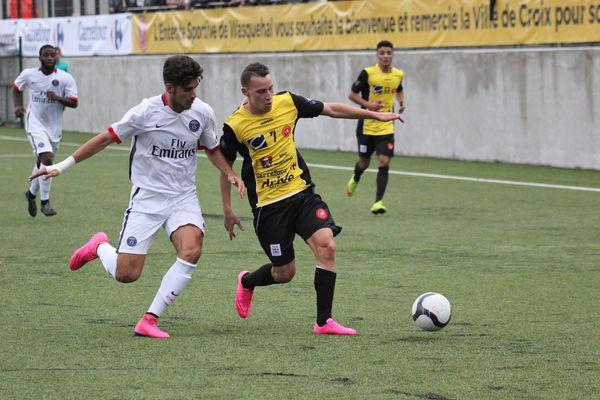 CDF - Waquehal / PSG, Messaoud Bouardja: «Quand je joue c'est pour gagner»