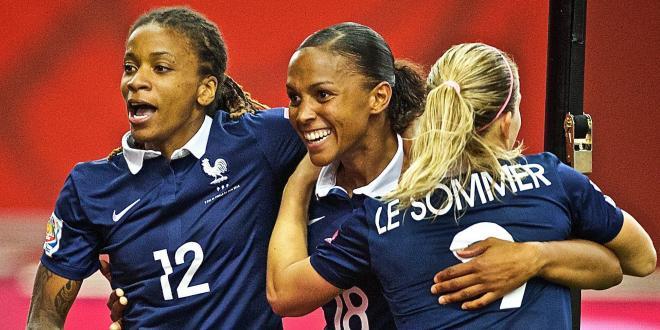 Féminines - Marie-Laure Délie permet l'égalisation de l'Equipe de France