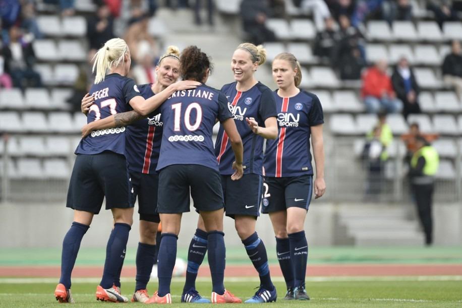 Féminines - Les Parisiennes enchaînent face à Saint-Etienne