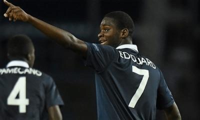 """Odsonne Edouard """"signer professionnel et jouer devant le public du Parc des Princes"""""""